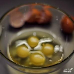 Омлет с голубым сыром - фото шаг 2