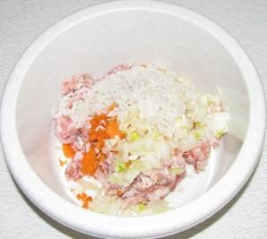 Голубцы ленивые в сметанном соусе - фото шаг 3