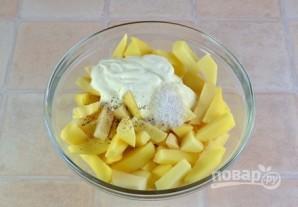 Картофель с курицей в духовке - фото шаг 2