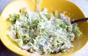 Салат с сыром - фото шаг 4