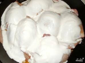Фаршированные кальмары с рисом и яйцом - фото шаг 7