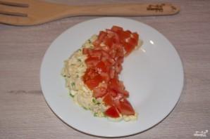 Салат в виде арбуза - фото шаг 5