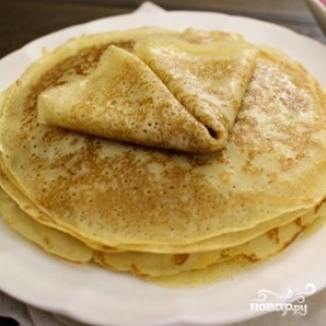 Блинчики на завтрак - фото шаг 11