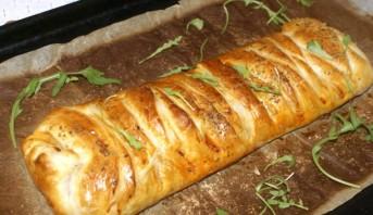Пирог слоеный с мясом - фото шаг 7