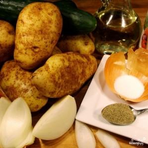 Немецкий картофельный салат - фото шаг 1