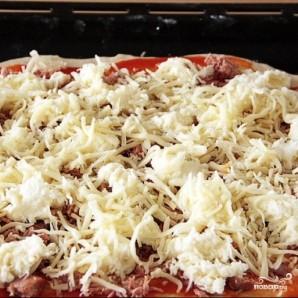 Пицца с тунцом - фото шаг 8