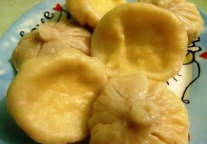 Хинкали с сыром - фото шаг 8