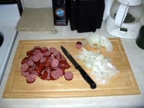 Креольские сосиски  - фото шаг 2