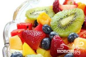 Идеальный летний фруктовый салат - фото шаг 5