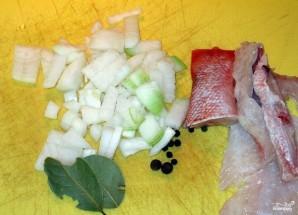 Суп из морского окуня - фото шаг 2