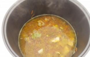 Каша гречневая со свининой - фото шаг 4