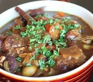 Суп из баранины с чечевицей - фото шаг 7