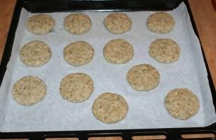 Овсяное печенье с семечками - фото шаг 5
