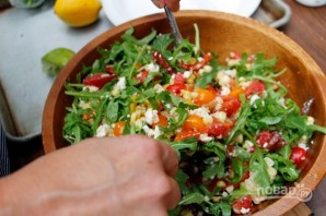 Салат с рукколой - фото шаг 6