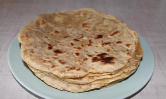 Слоеное тесто на сковороде - фото шаг 6