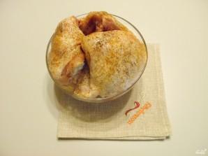 Куриные бедра на сковороде - фото шаг 2