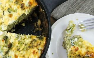 Запеканка с брокколи, и сыром, и грибами - фото шаг 6