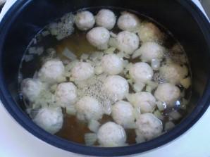 Простой суп с фрикадельками - фото шаг 9