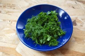 Творог с зеленью для похудения - фото шаг 2
