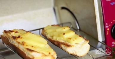 Гренки сырные - фото шаг 3