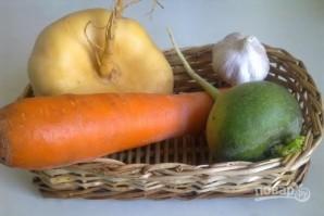 Салат из репы - фото шаг 1
