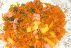 Омлет с морковью - фото шаг 2