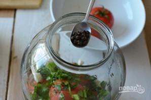 Малосольные помидоры по-грузински - фото шаг 7