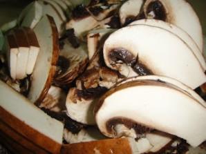 Тосты с грибами - фото шаг 2