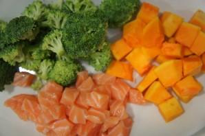 Пюре из тыквы и брокколи - фото шаг 1