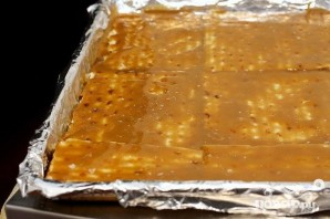 Шоколадно-карамельные крекеры - фото шаг 3
