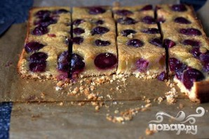 Пирожные с вишней - фото шаг 5
