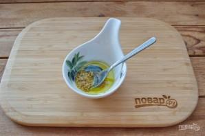 Салат из кальмаров и креветок - фото шаг 2