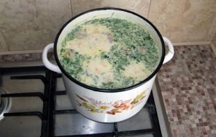 Сырный суп с фаршем - фото шаг 9