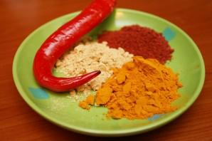 Баранина с томатом и курагой - фото шаг 5
