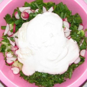 Простой салат из китайской капусты - фото шаг 5