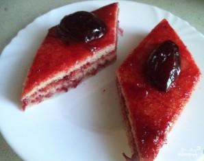 Пирог с вареньем на скорую руку - фото шаг 9