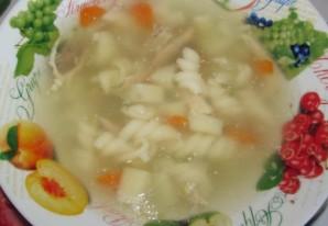 Куриный суп в скороварке-мультиварке - фото шаг 7