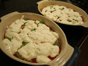 Каннеллони с овощной начинкой - фото шаг 6