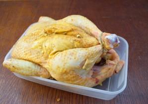 Курица, запеченная в сливочном соусе - фото шаг 4