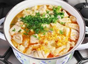 Рыбный суп с клецками - фото шаг 7