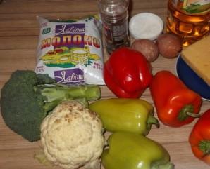 Овощная запеканка с цветной капустой - фото шаг 1