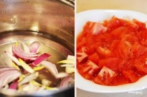 Томатный суп-пюре с сыром - фото шаг 4