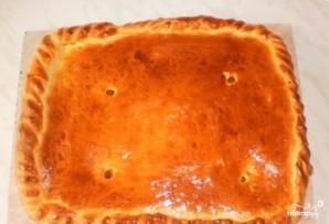 Пирог с курагой, простой - фото шаг 9