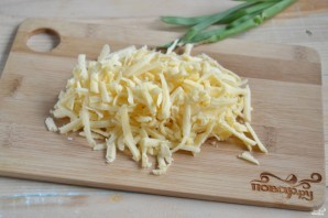 Хачапури с сыром из слоеного теста - фото шаг 2