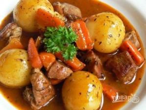 Рецепт жаркого из свинины с картошкой - фото шаг 8