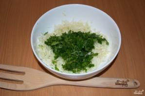 Салат с салями и сухариками - фото шаг 2