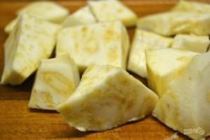 Запеченный сельдерей с соусом из авокадо - фото шаг 7