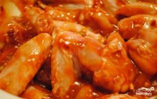 Куриные крылышки барбекю - фото шаг 2