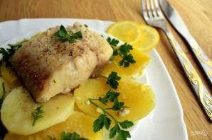 Рыба в сливочном соусе с картофелем - фото шаг 5
