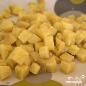 Кексы с картофелем и орехами - фото шаг 2